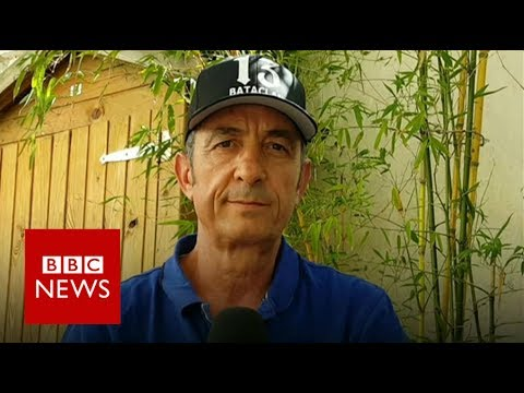 Bataclan survior's message for people of Manchester - BBC News