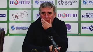 Gheorghe Hagi dupa Gaz Viitorul 2-2 | novatv.ro