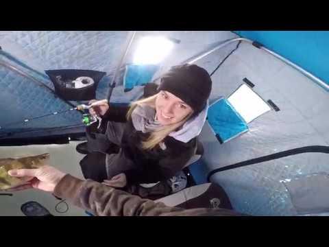 Ice Fishing Lake Winnebago, Mixed Bag