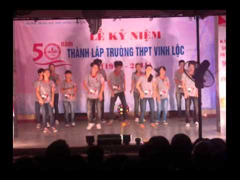 Dân vũ Quốc Tế THPT Vinh Lộc TT Huế
