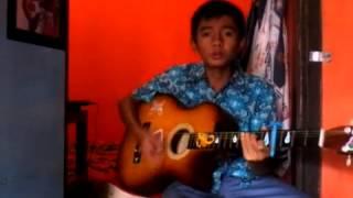 Tinggal kenangan versi gitar biasa dan ukulele