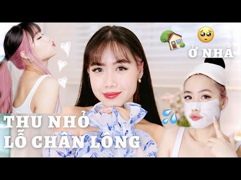 3 CÁCH THU NHỎ LỖ CHÂN LÔNG Ở NHÀ | NHANH & HẾT MỤN NGAY ♡ Mina Nguyen