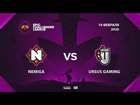 Nemiga Gaming vs URSUS Gaming vod