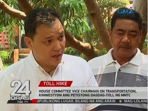 24 Oras: House Committee Vice Chairman on Transportation, kinwestyon ang petisyong dagdag-toll