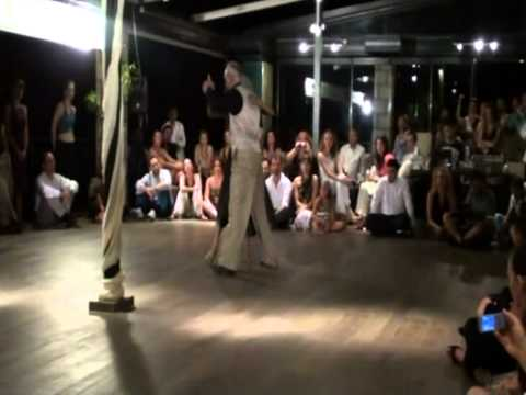 Servet & Figen Moran, Vejo Porton, R.Biagi, Lesvos Tango Meeting, July 2011 Travel Video