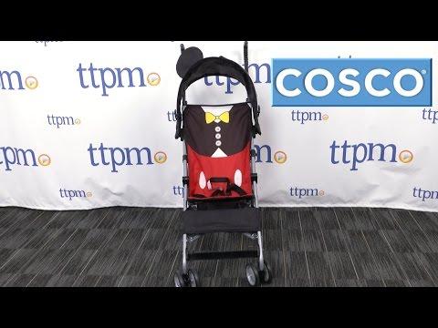 Disney Baby Mickey Mouse Tuxedo Umbrella Stroller From Cosco