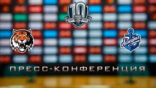 27.02.2018 / Amur - Admiral / Press Conference