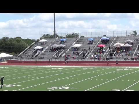 Destini 400m AAU District 26 Qualifier 6-10-17