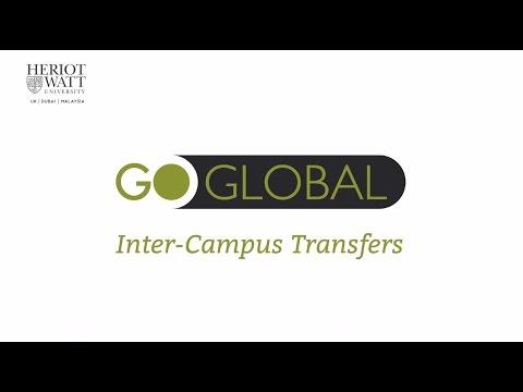 Heriot-Watt University: Go Global - Inter-Campus Transfers