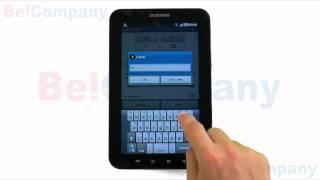 Samsung Galaxy Tab P1000 - Het instellen van de wekker