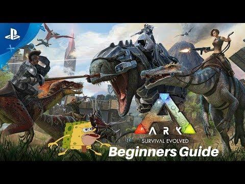 ARK: Survival Evolved PS4 Day 1 Beginner's guide Tips