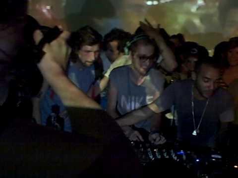 Thomas Bangalter / Busy P / DJ Mehdi / SoMe @ Cinespace - Raspberry Beret