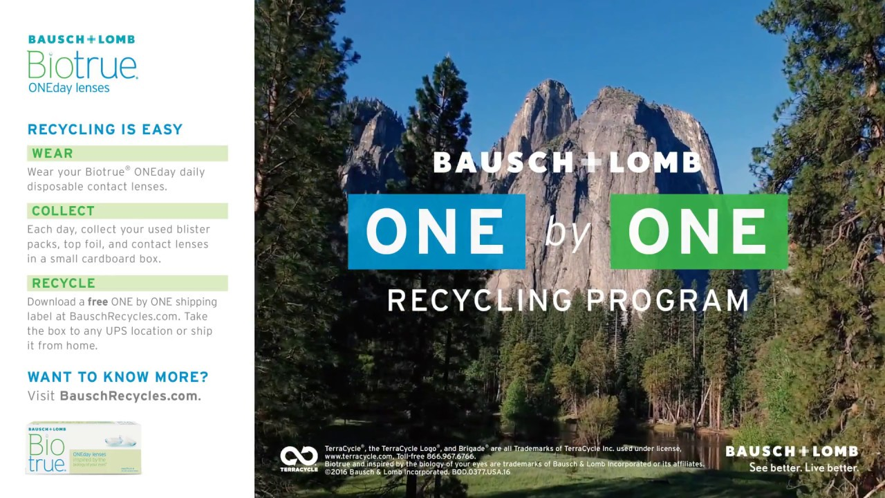 Biotrue ONEday Contact Lenses : Bausch + Lomb