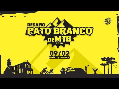 ⛰DESAFIO PATO BRANCO de MTB 🚵🏻♂ 09/02/2020 🗓 divulgação