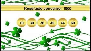 sorteio resultado mega sena 1860 Palpite 1861