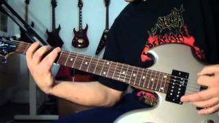 Master -  The Human Machine (guitar cover)