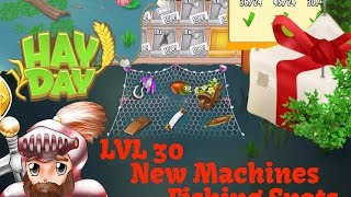 Hay Day - Level 30 - New Ice Cream Maker, New Fishing Spots, Expansion Material Trade.