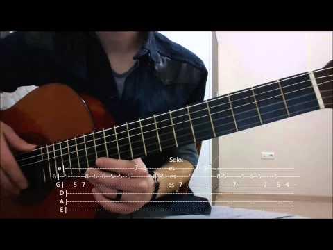 Medcezir Bir Kuyruklu Yıldıza Mektup Gitar Dersi ve Tablar