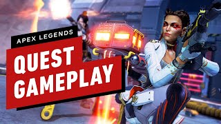 Apex Legends Quest - First Hunt Complete Gameplay