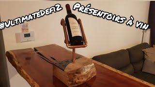 Fabrication d'un présentoir à vin en bois et cuivre #UltimateDefi2