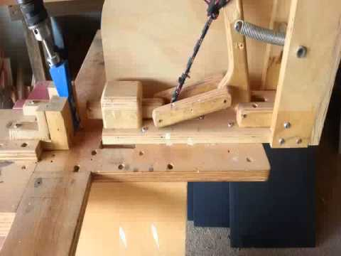 Woodworking-Homemade Kreg Jig! Pocket Hole Jig! #2 - YouTube