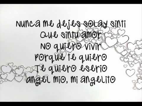 angelica  angel baby  w / lyrics
