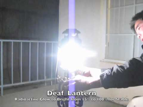 Deaf_Lantern's Petromax rise and bright light filled in Night time