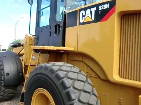 New Cat 928h Wheel Loader Youtube