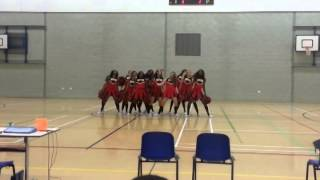 Cheerleaders from University of Bedfordshire