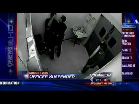 Denver Police Surveillance Video Shows Excessive Use of Force Against Shoplifting suspect.