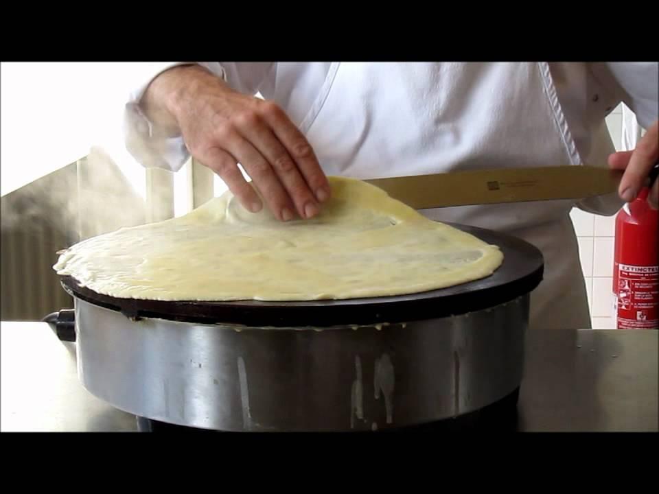 cours de cuisine :utiliser une crêpière ou une billig - youtube