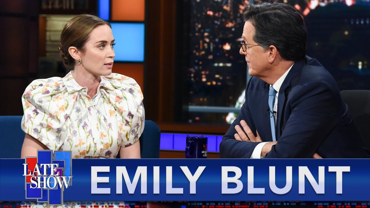 """Download """"I Look Like His Child"""" - Emily Blunt On Walking With Dwayne Johnson On The Set Of """"Jungle Cruise"""""""