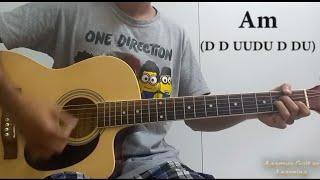 Bhula Diya (Darshan Raval) - Guitar Chords Lesson+Cover, Strumming Pattern, Progressions