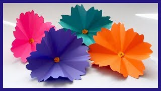 DIY Paper Flowers Making Video Tutorial | DIY Paper Crafts for Beginners