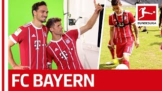 Good Guy James, Joker Hummels, Dancer Boateng and Merry Müller - Behind the Scenes at Bayern München
