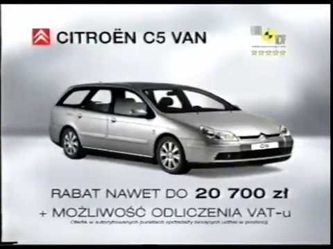 Citroen Nowe C5 Polska 2003 Commercial