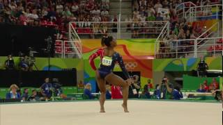 Simone Biles 2016 Olympics QF BB