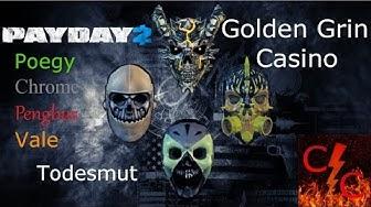 Glücksspiel und Feuerwerk - Chaostime Payday 2: Golden Grin Casino (Todesmut)
