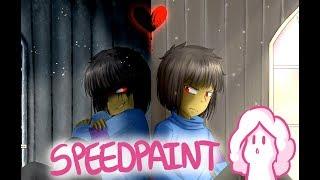 Simulacrum   Speedpaint #32 (Collab with Kitmast!)