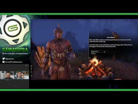 Gamasutra Plays The Elder Scrolls Online with creative direc