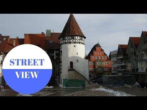 STREET VIEW: Albstadt auf der Schwäbischen Alb in GERMANY