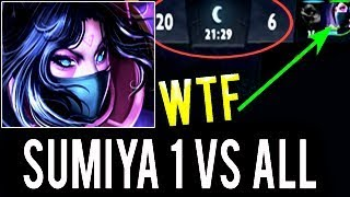 Unreal 1 vs 9 SumiYa Best TA Carry Disaster Gameplay Epic Combo Comeback WTF Dota 2