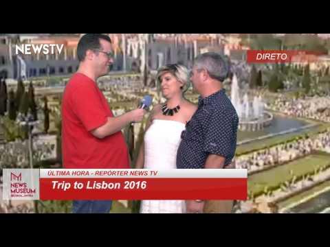 News TV - Trip to Lisbon 2016 - 11/9/2016