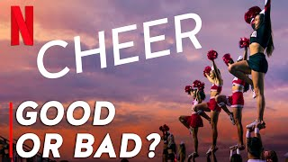 CHEER on NETFLIX: The Good, The Bad & The Ugly!   w/ The Fitness Marshall