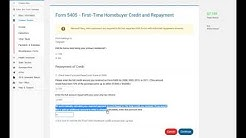5405   First Time Homebuyer Repayment