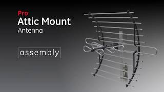 GE Pro Attic Mount Antenna Assembly - 33692