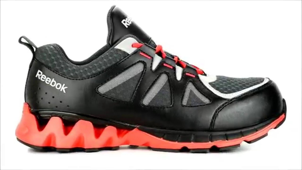 e65bce90a6b17b Men s Reebok Composite Toe Metal Free Work Shoe RB3000   Steel-Toe-Shoes.com  - YouTube