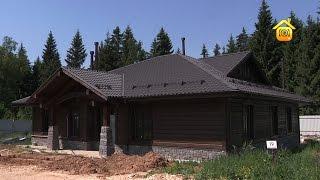 видео деревянный дом в скандинавском стиле