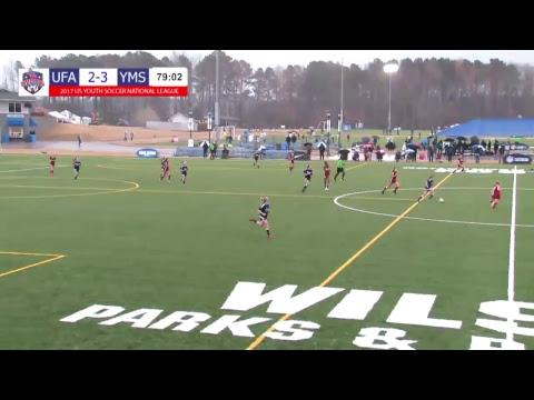 2017 National League - Day 3 - U16 Girls - 2pm - UFA 02 Premier vs. YMS Premier 02