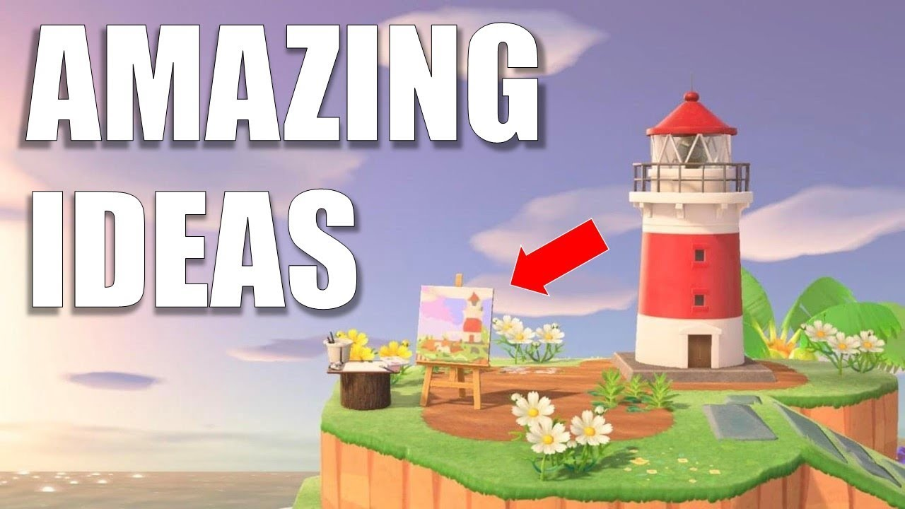 Amazing Design Ideas For Your Island Animal Crossing New Horizons Youtube
